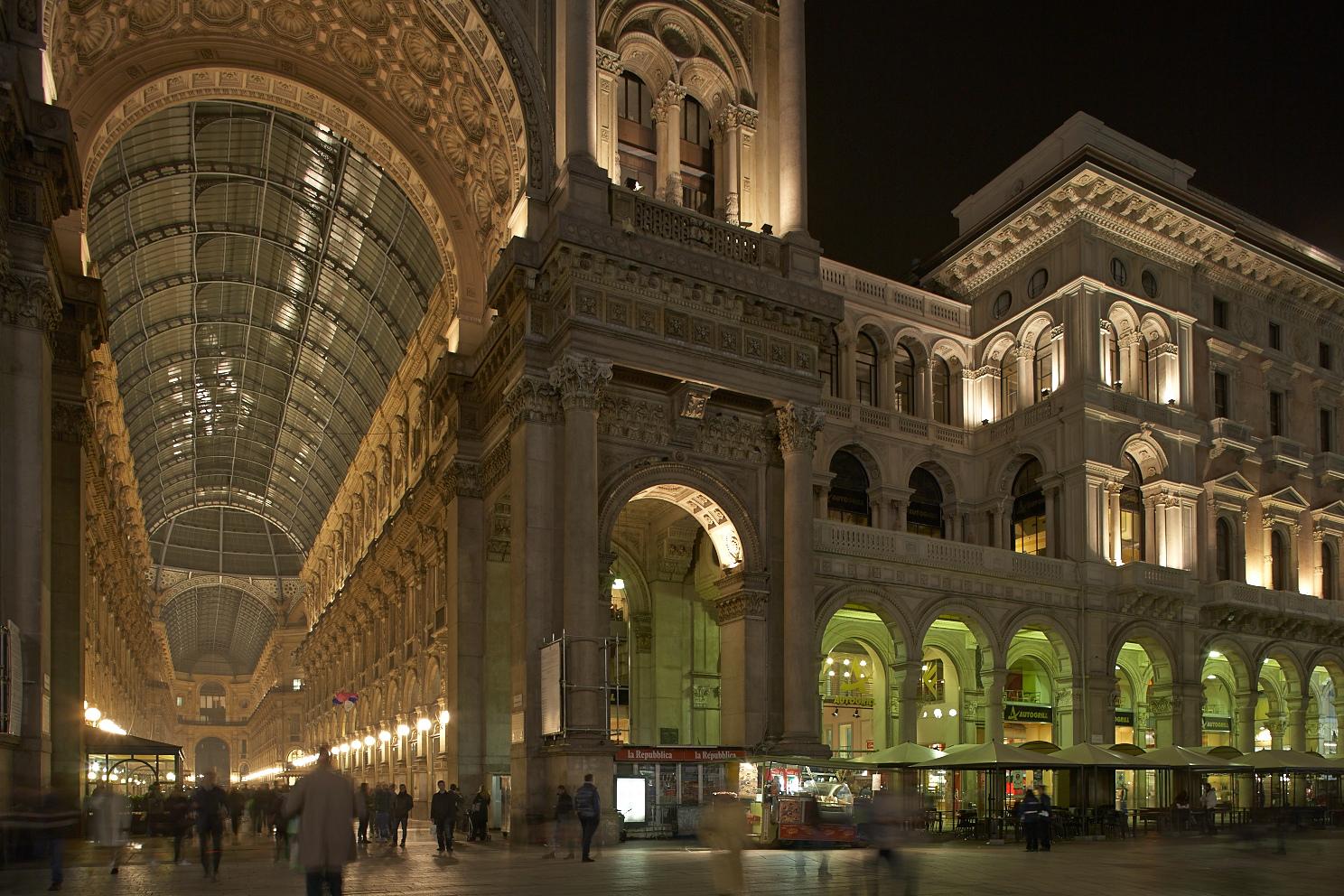 Galleria Vittorio Emanuele II - schöner shoppen