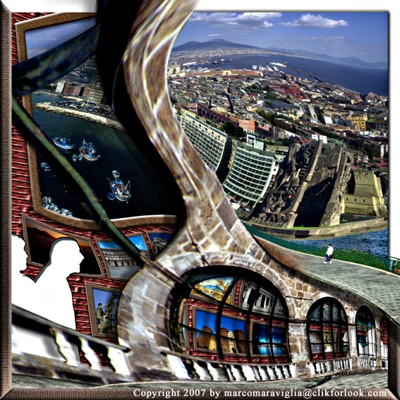 """""""Gallery""""; libera ispirazione della """"Galleria"""" di M. Escher"""