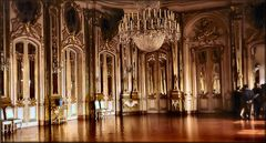 Gallery of Mirrors in Queluz Palace,
