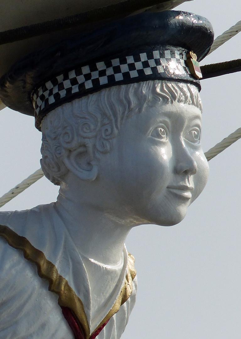 Gallionfigur der Rickmer Rickmers