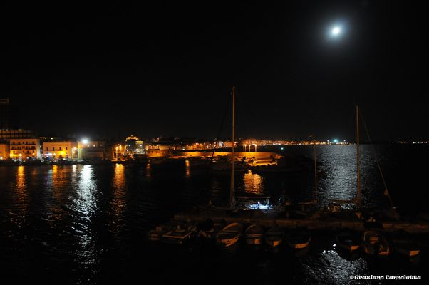 gallipoli di notte