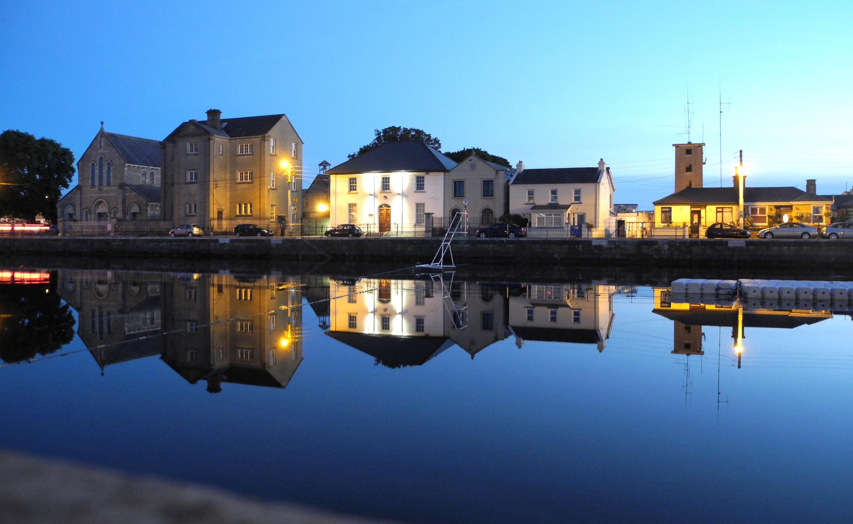 Galway Dock zur blauen Stunde