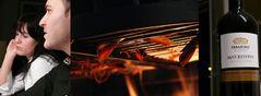 gambas on fire
