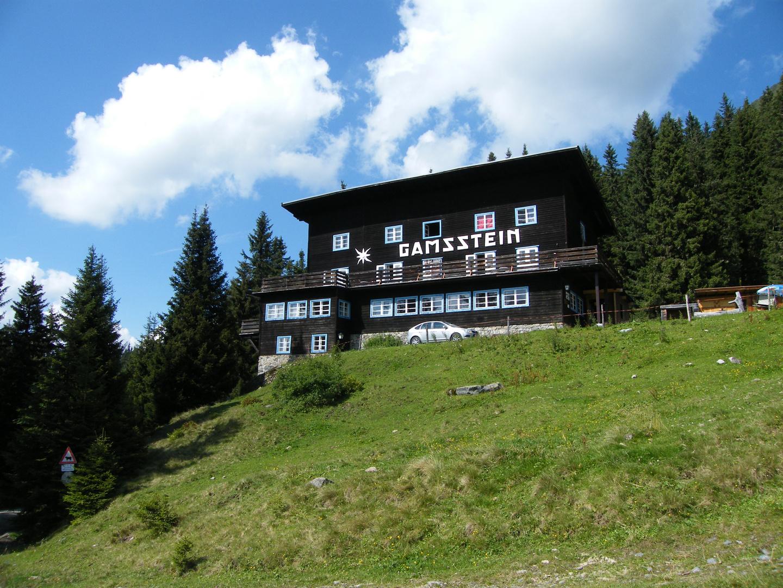 Gamssteinhaus am Hochpillberg bei Schwaz