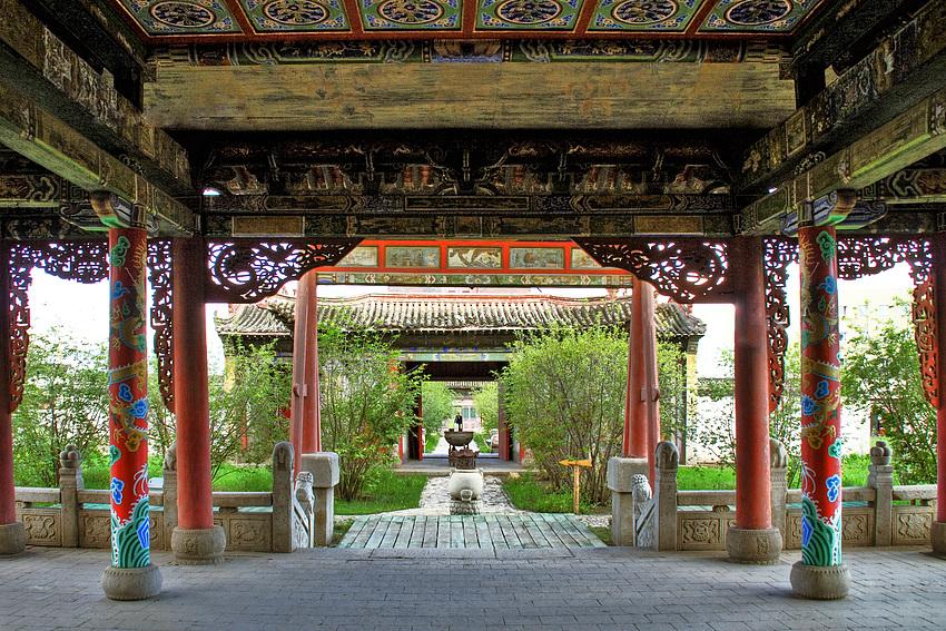 Gandan-Kloster in Ulaan Bator