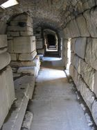Gang im antiken Ephesus