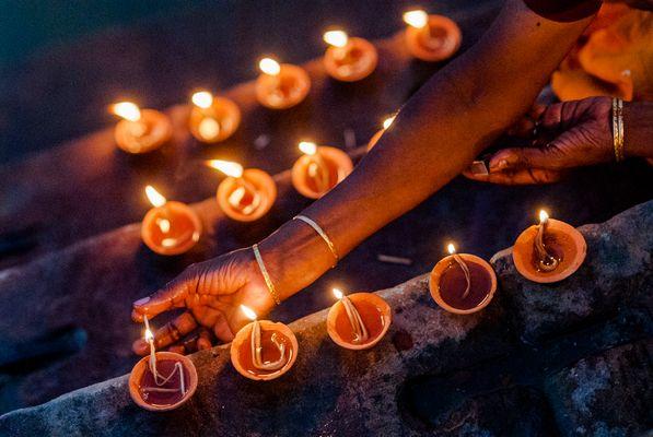 Ganges-Lichter