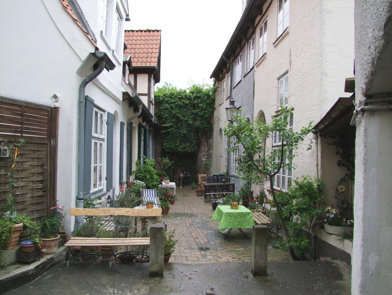 Ganghäuser in Lübeck