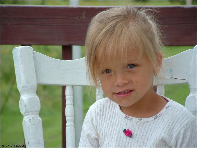 Gangsta Little Girl !