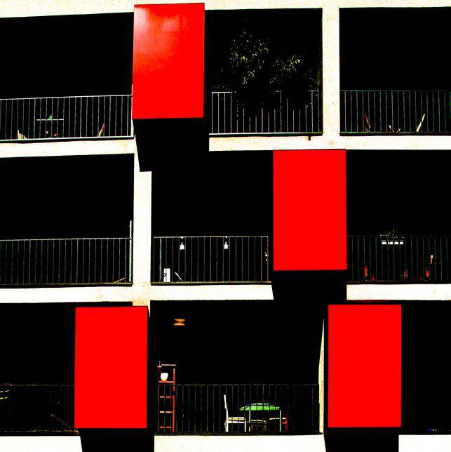 Ganz in Rot