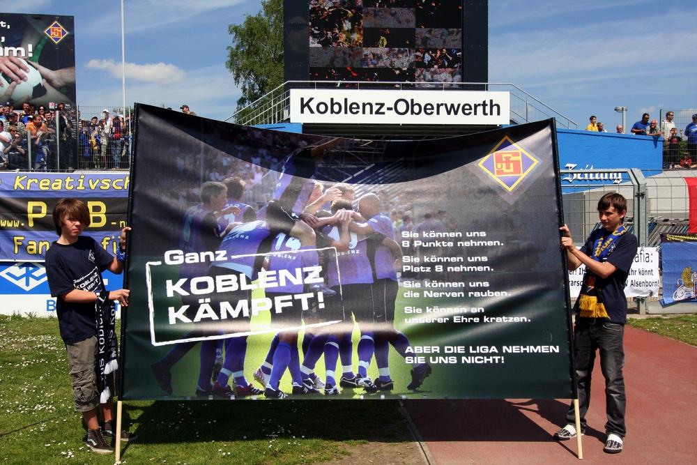 Ganz Koblenz kämpft!