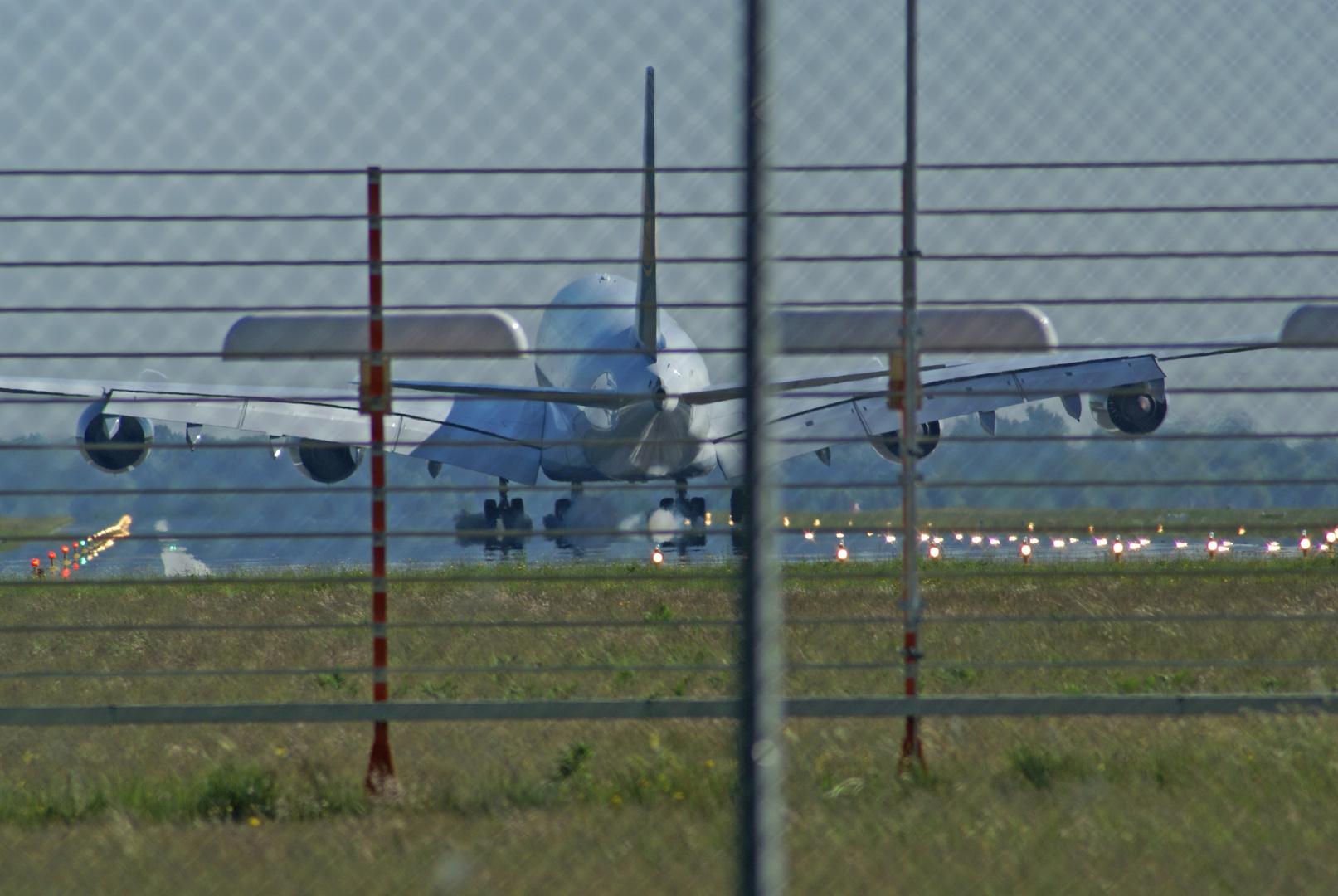 Ganz nah dran am A380