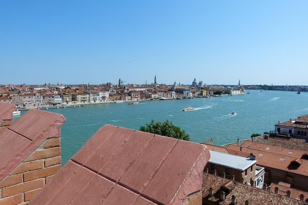 ...ganz Venedig zu unseren Füssen...