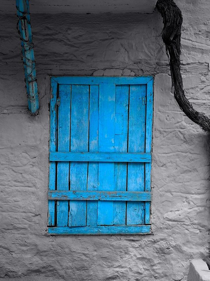 ganz viel Blau