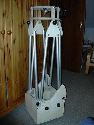 ganzes Teleskop