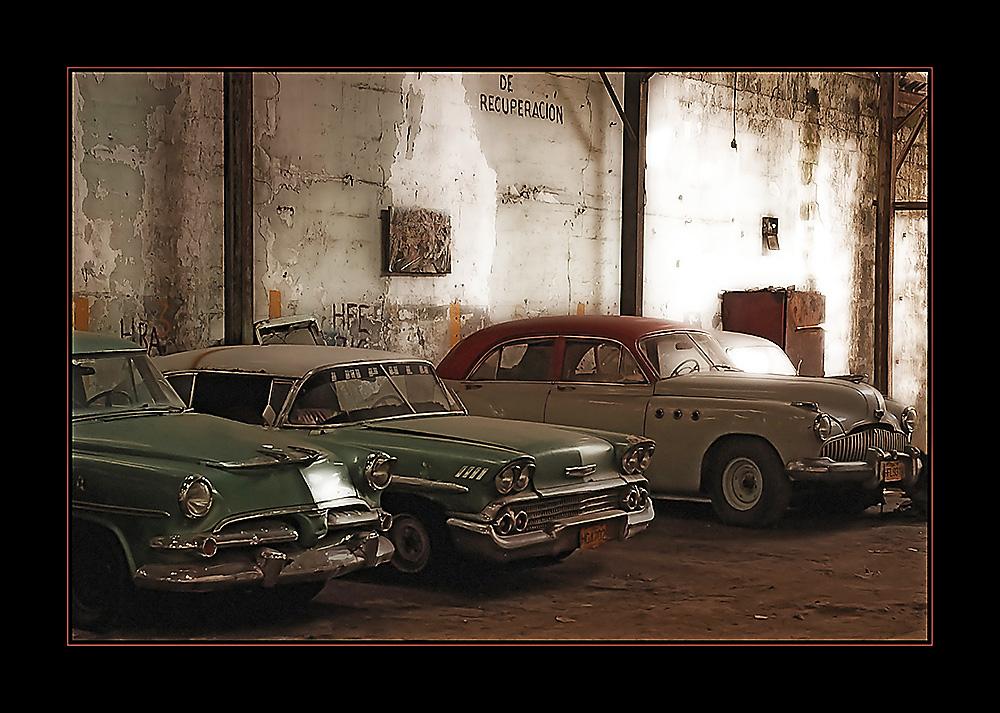 Garage in Havanna
