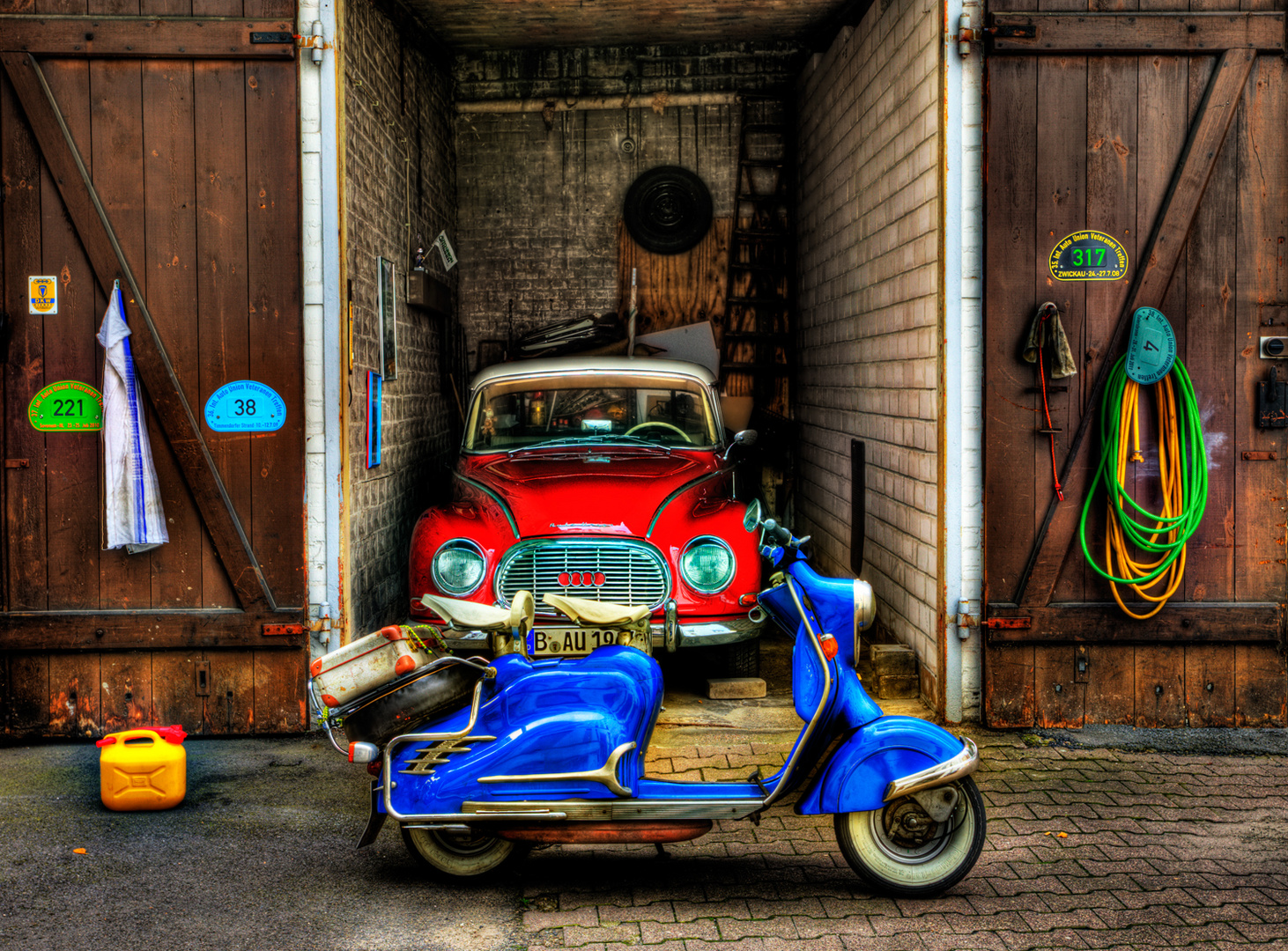 Garage in Kreuzberg