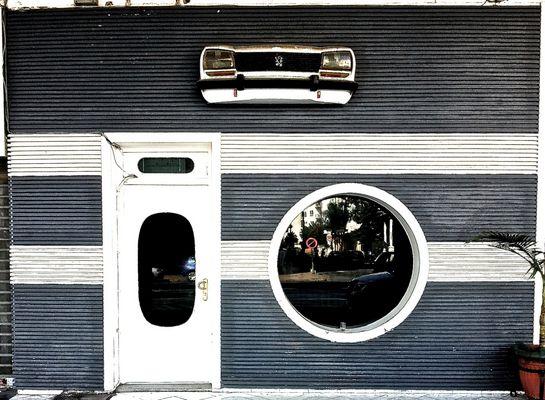 Garage insolite