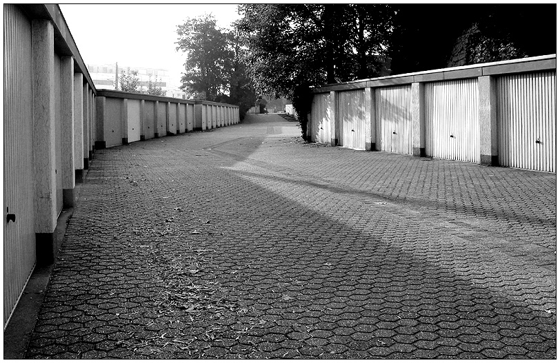 Garagen-Monokultur