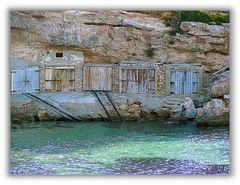 Garajes barco, en color