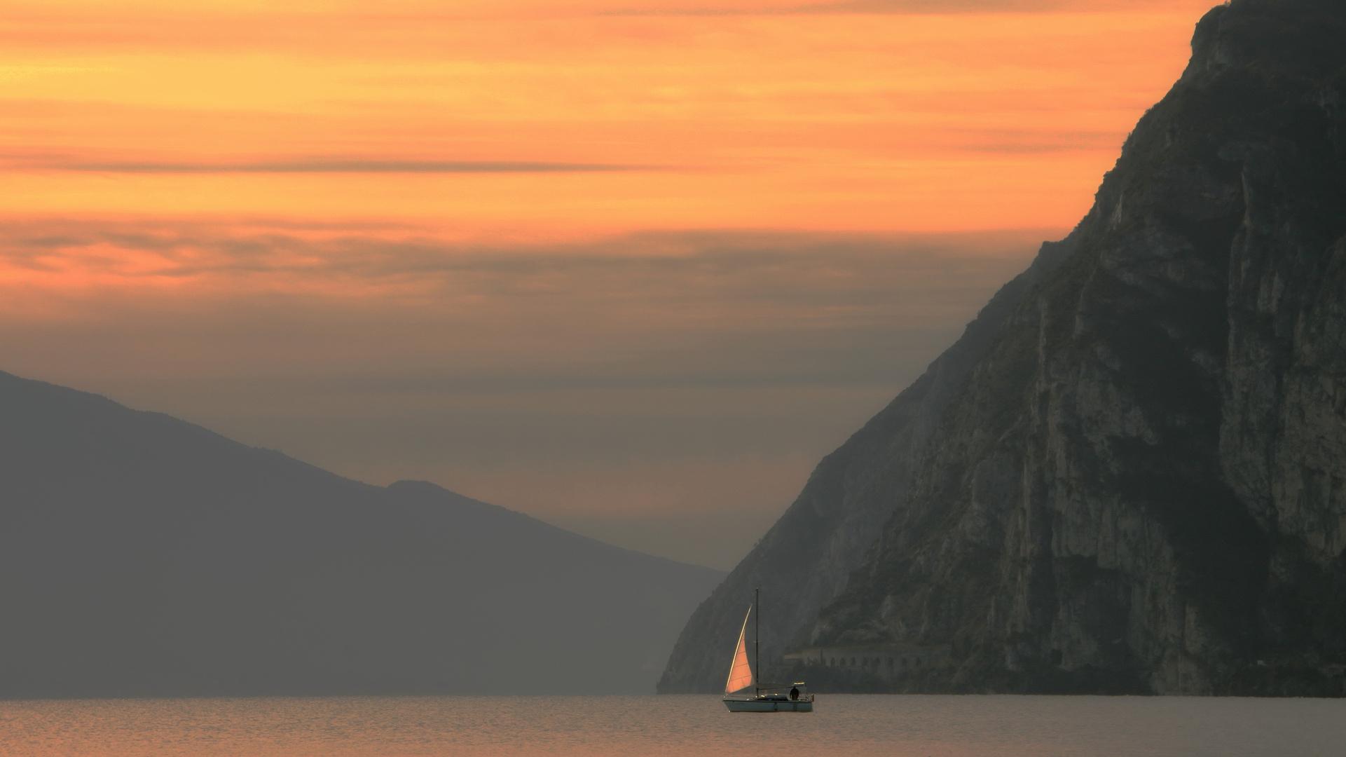 Gardasee am Morgen