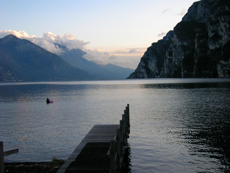 Gardasee in Abendstimmung