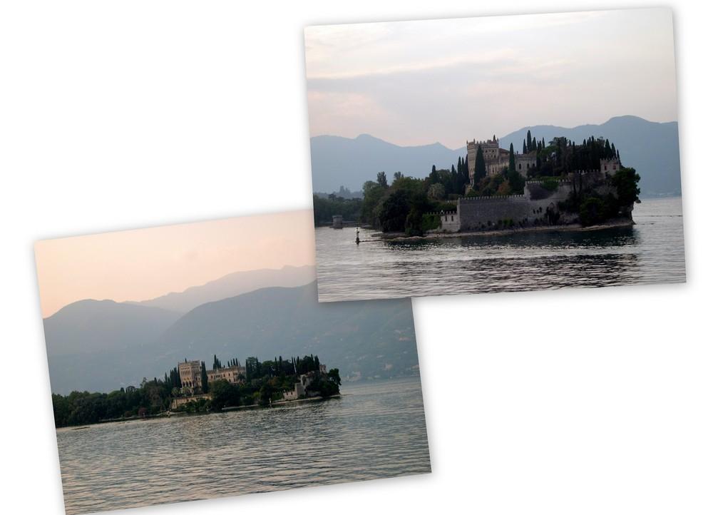 Gardasee - Isola del Garda - auch ich hab sie