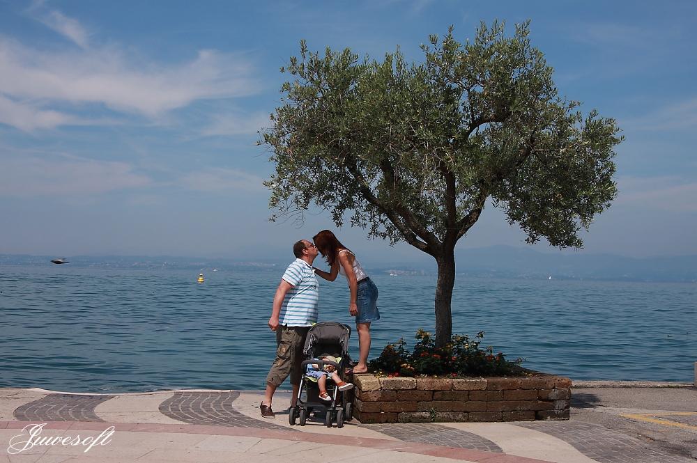 Gardasee Lazise Seeufer