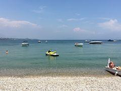 Gardasee Strand von Desenzano