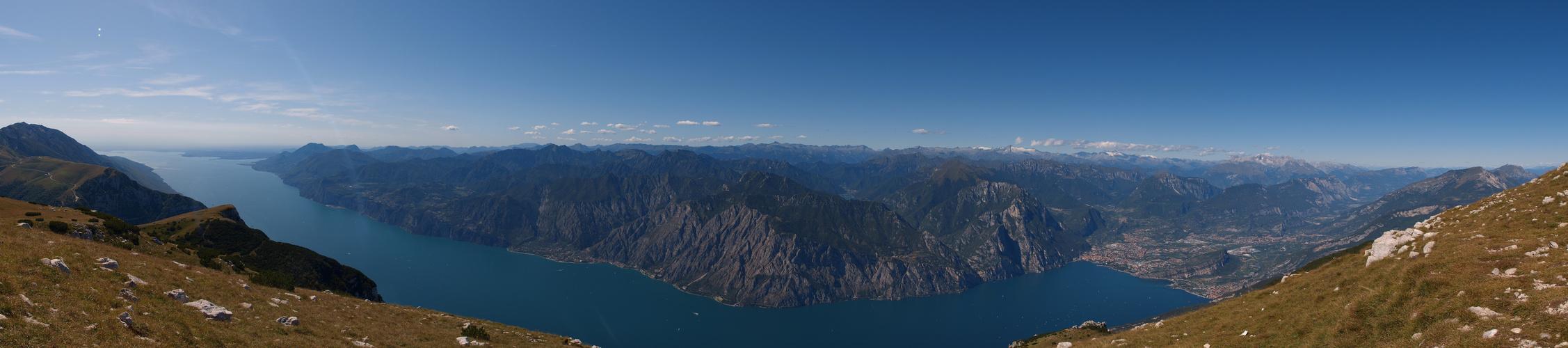 Gardaseepanorama vom Monte Altissimo