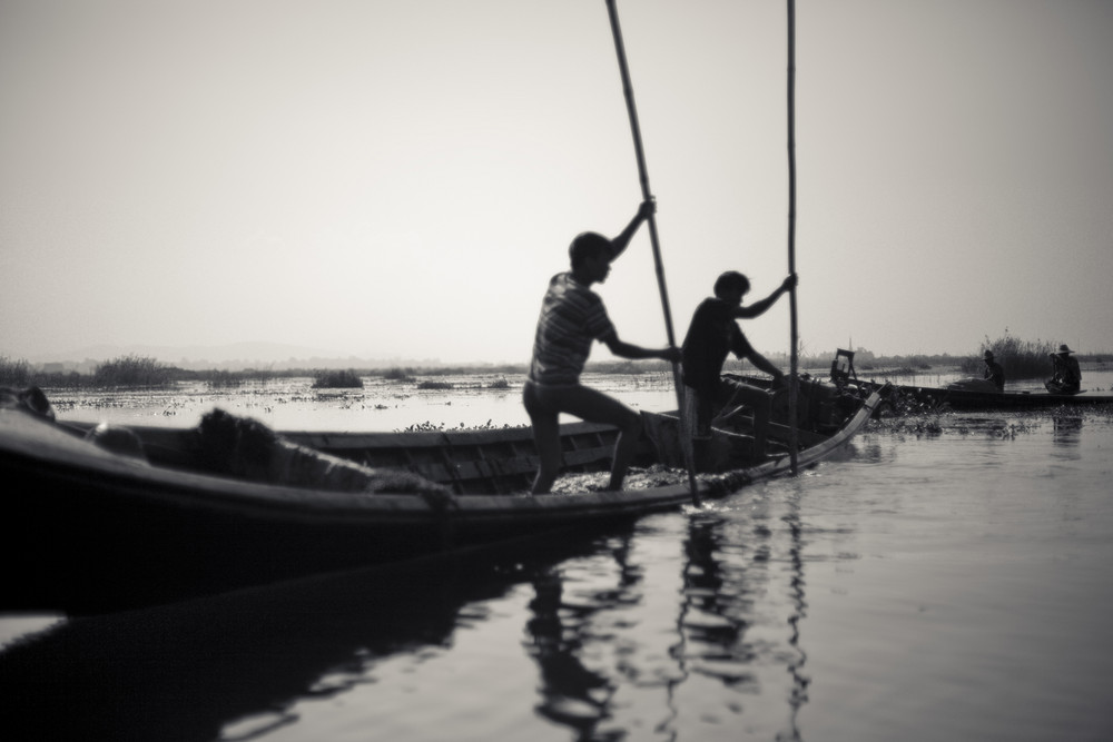 Gardeners of the Inle Lake
