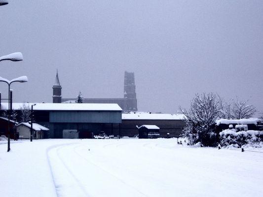 gare a la neige