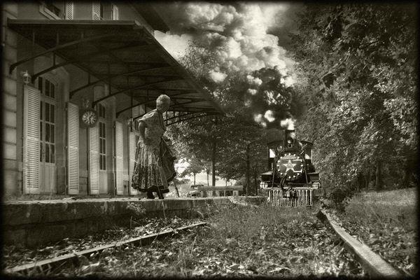 Gare à la vapeur !
