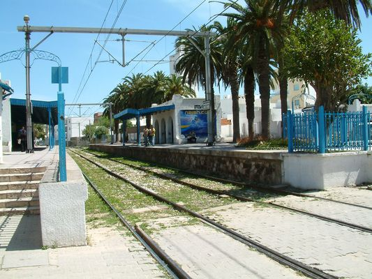 Gare de La Goulette Neuve à Tunis