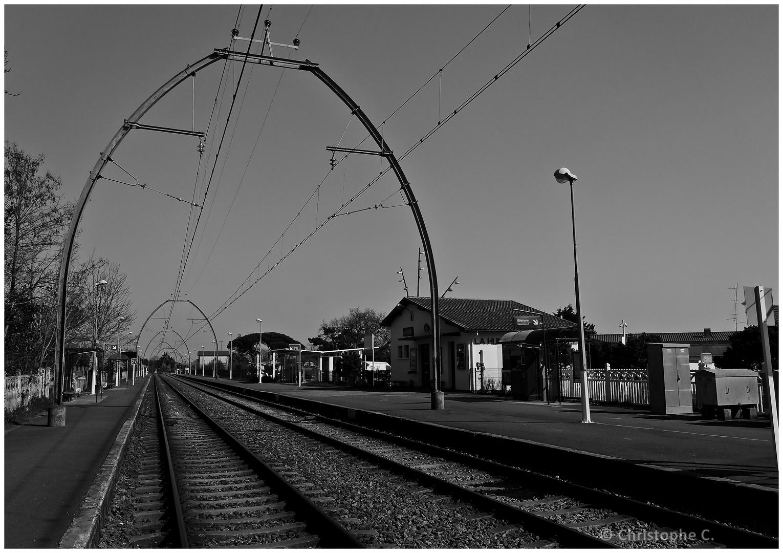 Gare de La Hume (33) - Bassin d'Arcachon