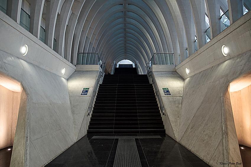 Gare de Liège-Guillemins Stairway