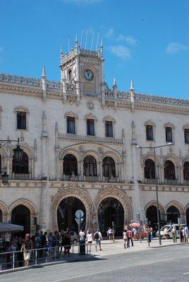 Gare de Rossio - Lisbonne