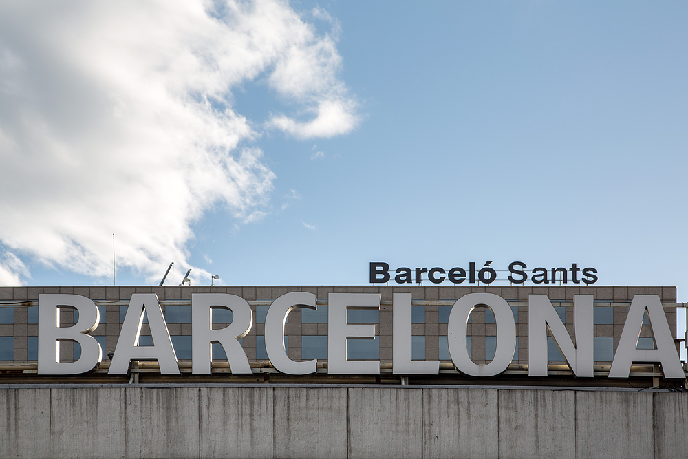 Gare de Sants de Barcelone