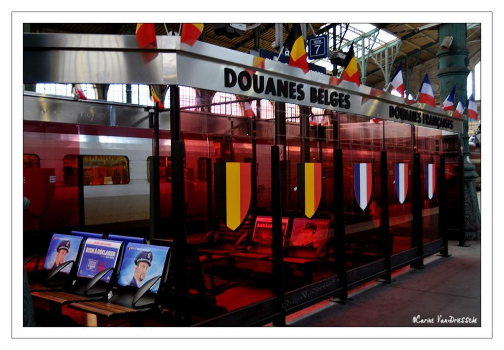 Gare du Nord ' film Rien à Déclarer de Danny Boon'