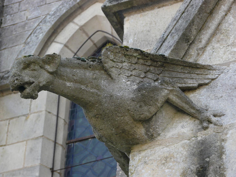 Gargouille Ménard la Barotière