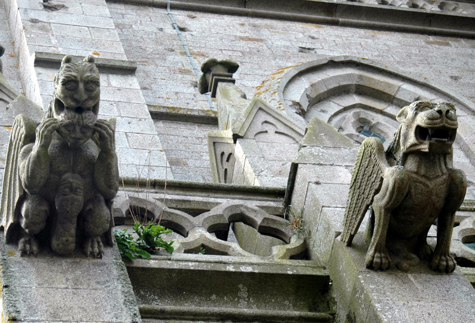 Gargouilles de la cathédrale d'AVRANCHES