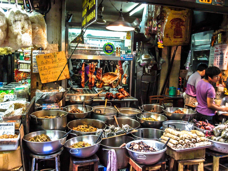 garküche in bangkok foto & bild | world, thailand, central with