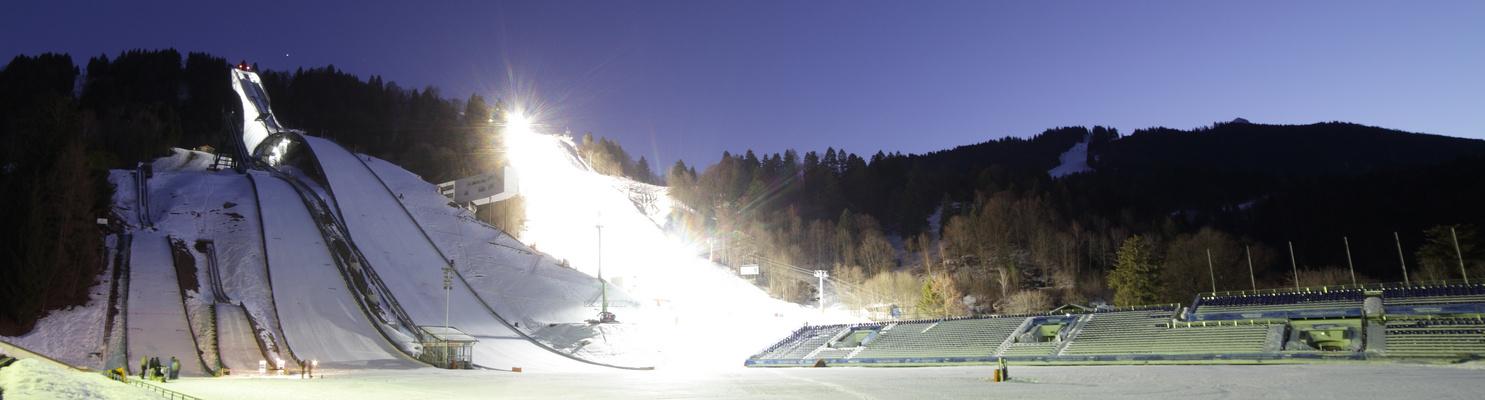 Garmisch-Partenkirchen LICHTSPRUNGSCHANZE