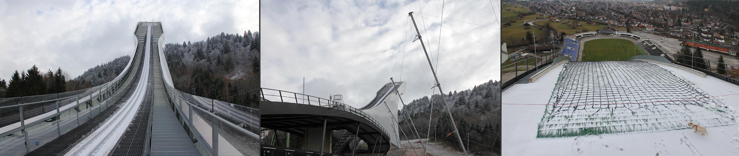Garmisch Partenkirchen - Skischanze - Schiebepano