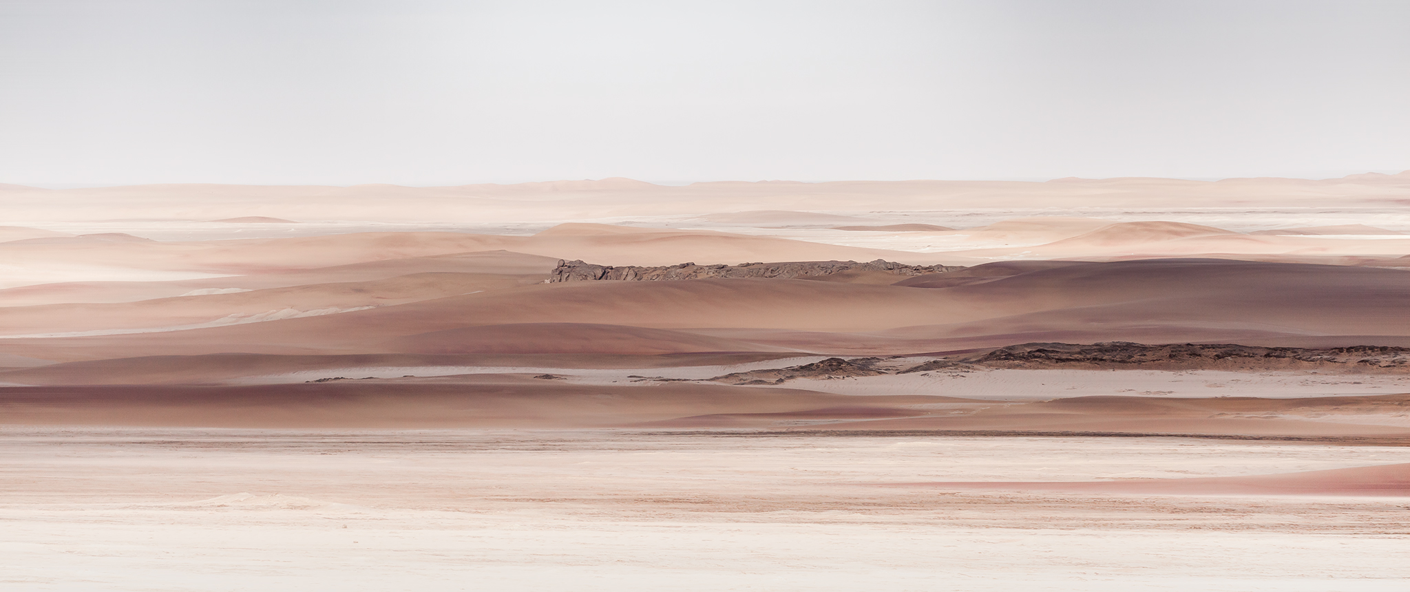 Garnet Dunes of the Central Namib