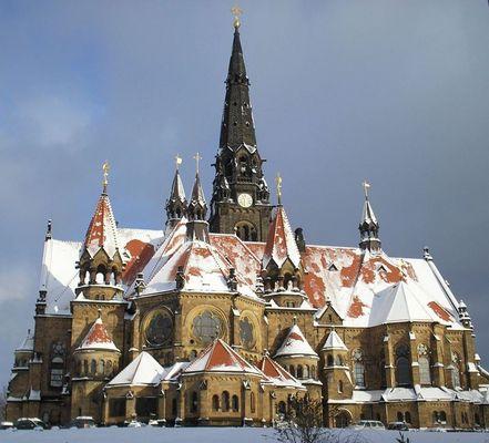 Garnissonskirche im Winter