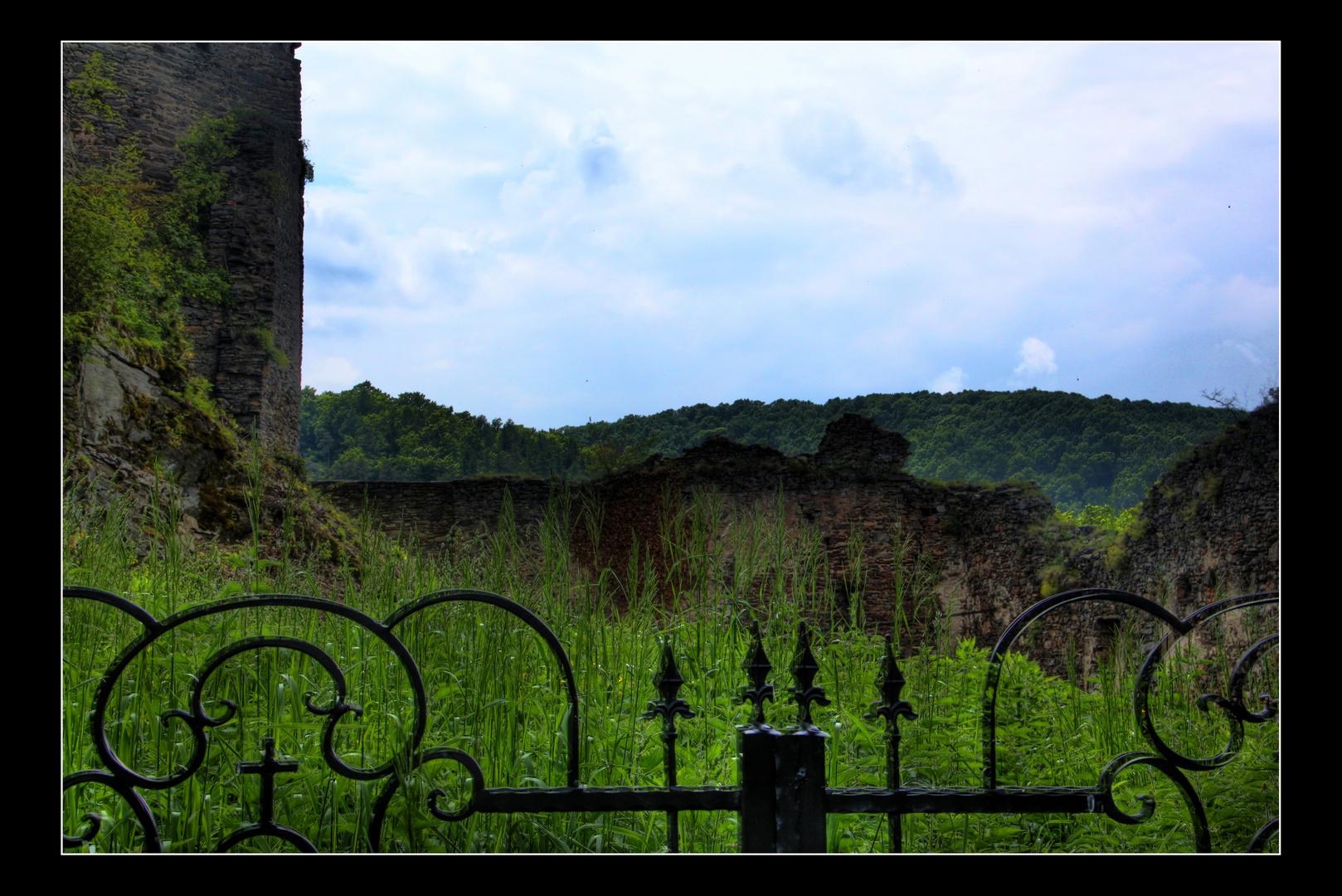 Garten Burg Hardegg