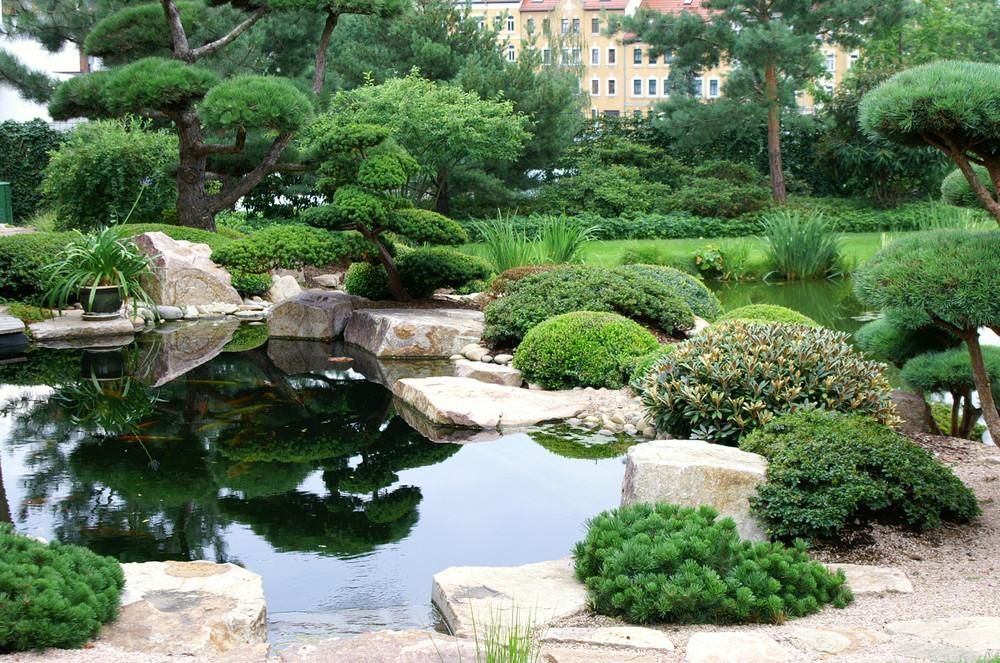 Garten im japanischen stil foto bild landschaft for Japanische garten bilder