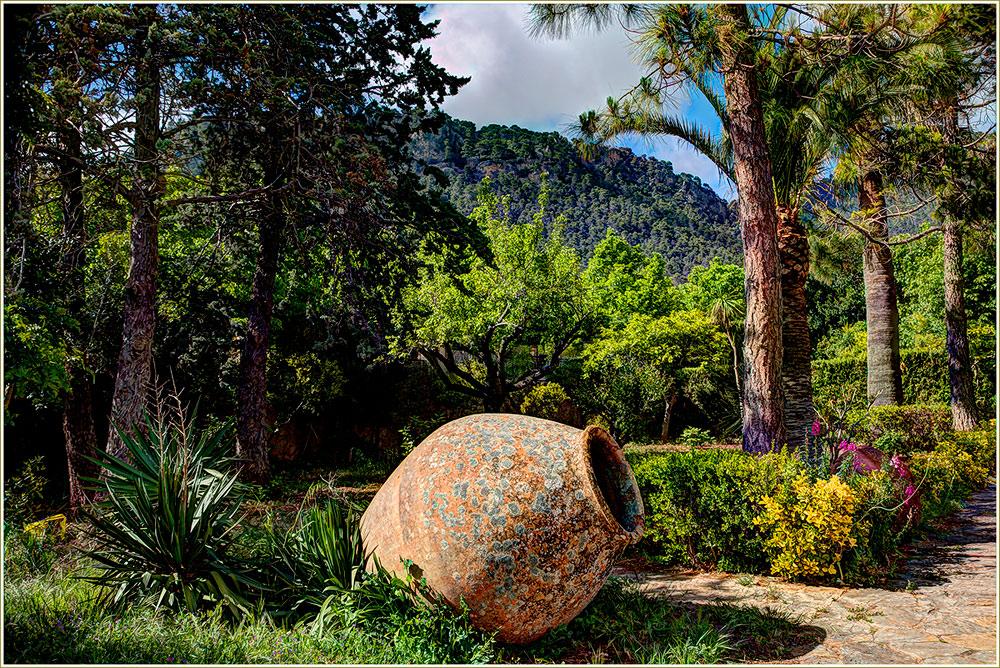 Garten in Valldemossa **