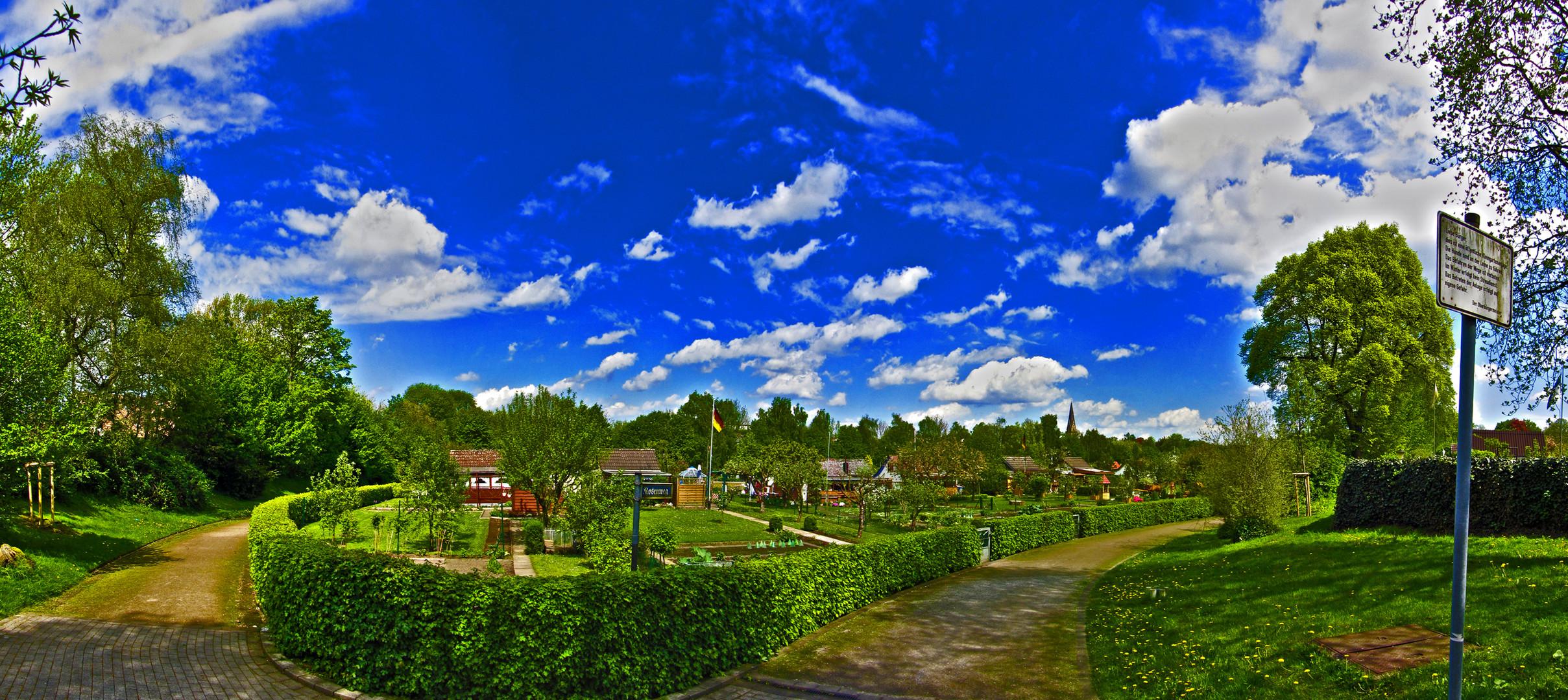 Garten Panorama